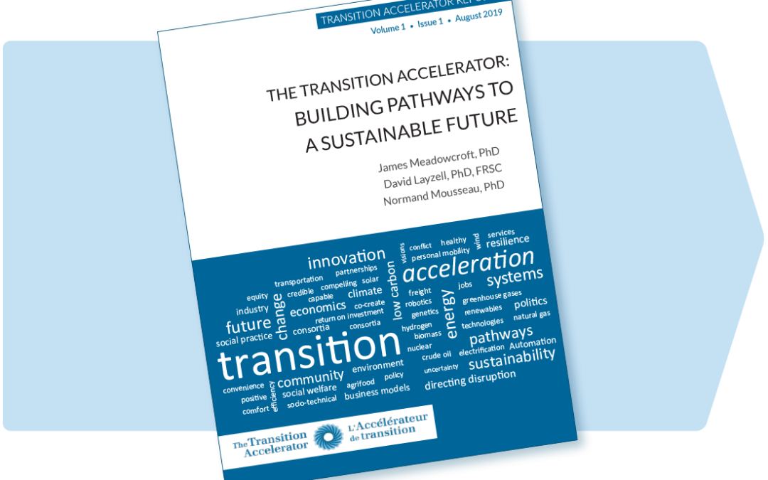 The Transition Accelerator: Building Pathways to a Sustainable Future