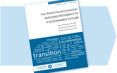 Report – The Transition Accelerator: Building Pathways to a Sustainable Future