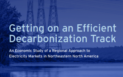 Report: Getting on an Efficient Decarbonization Track